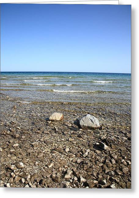 Lake Huron Greeting Card by Frank Romeo