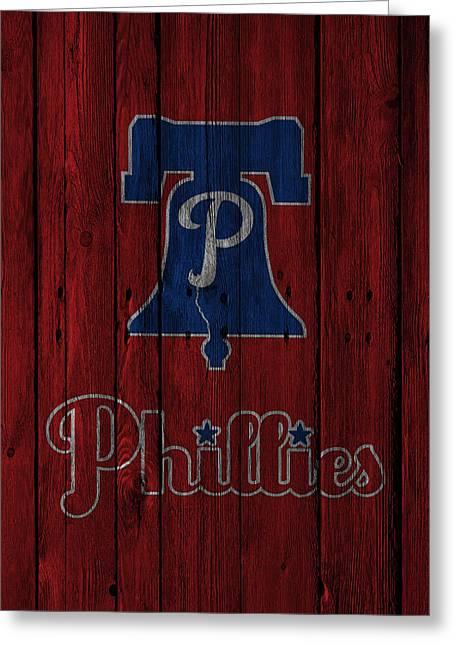 Philadelphia Phillies Greeting Card by Joe Hamilton