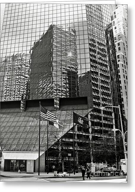 180 Maiden Lane Greeting Card by RicardMN Photography
