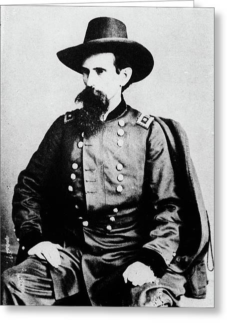 1800s 1860s General Lewis Lew Wallace Greeting Card