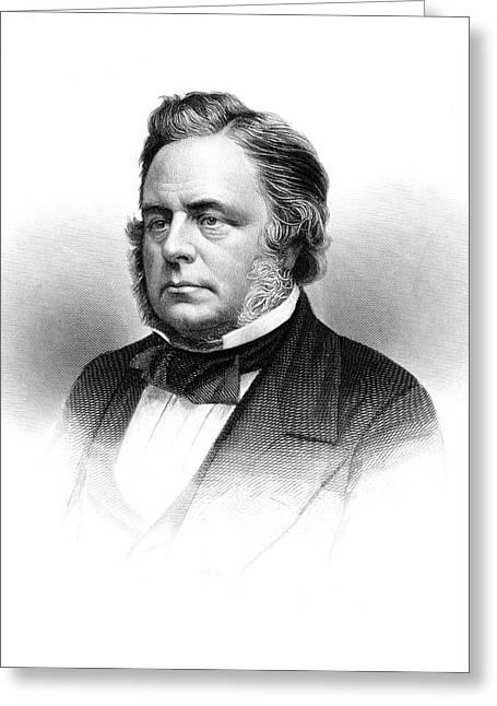 1800s 1860s John Bright British Member Greeting Card