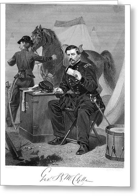 1800s 1865s General George Brinton Greeting Card