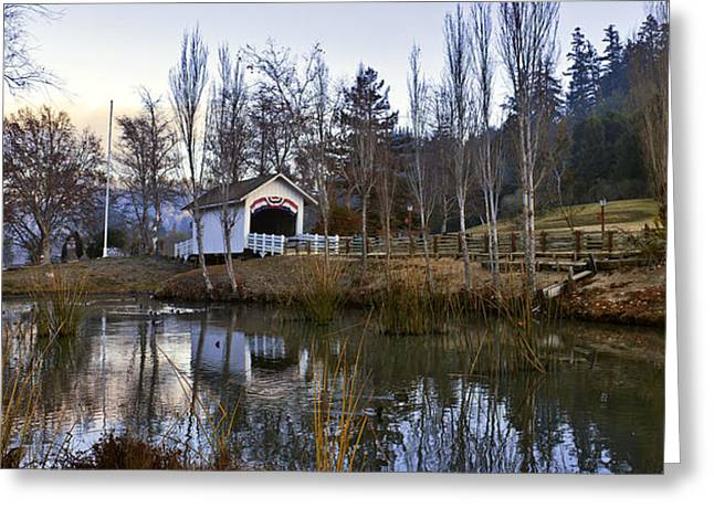 1.8.14 Morning Greeting Card by Larry Darnell