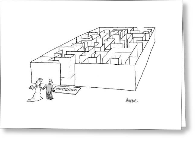 New Yorker July 10th, 2000 Greeting Card by Jack Ziegler