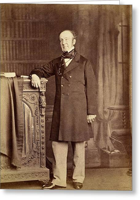 1851 Roderick Impey Murchison Geologist Greeting Card by Paul D Stewart