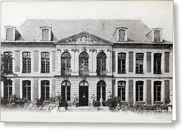 1860 Home & Museum Of Boucher De Perthes Greeting Card by Paul D Stewart
