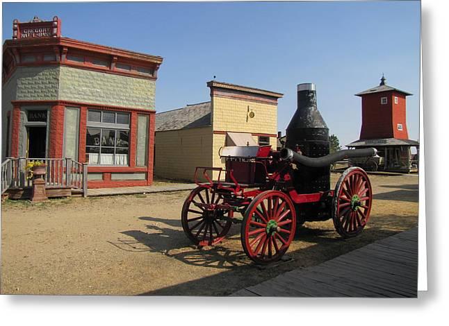 1880 Ghost Town South Dakota 4635 Greeting Card
