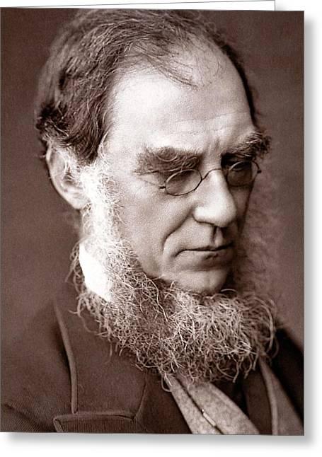 1881 Sir Joseph Hooker Botanist Darwinian Greeting Card by Paul D Stewart