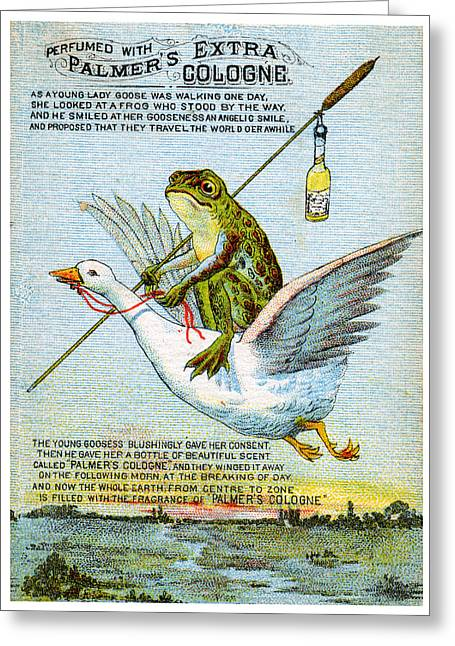 1890 Palmers Extra Cologne Greeting Card