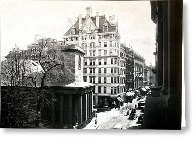 1890 Tremont Street Boston Greeting Card