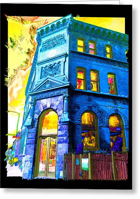 18th And Canal Greeting Card