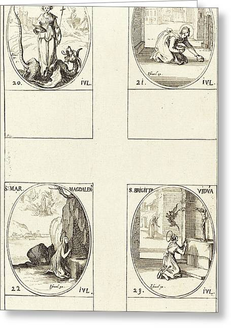 Jacques Callot French, 1592 - 1635 Greeting Card by Quint Lox
