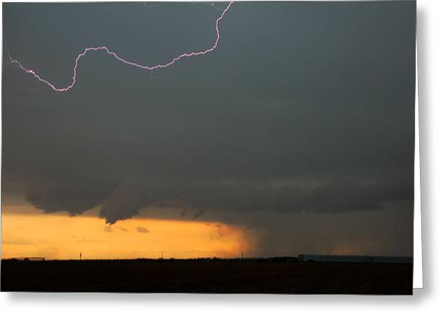 Let The Storm Season Begin Greeting Card