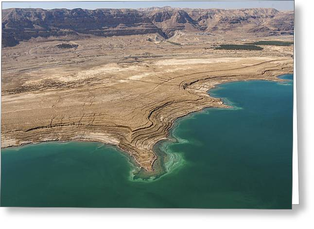 Observation Of Dead Sea Water Level Greeting Card