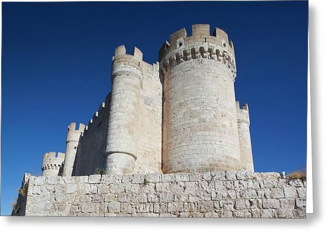 Spain, Castilla Y Leon Region Greeting Card by Walter Bibikow