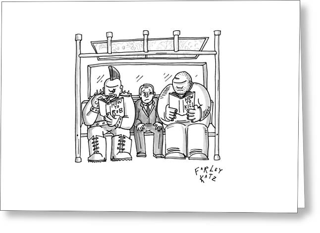 New Yorker April 20th, 2009 Greeting Card by Farley Katz