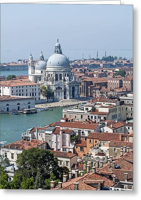 Venice. Italy. Greeting Card by Fernando Barozza