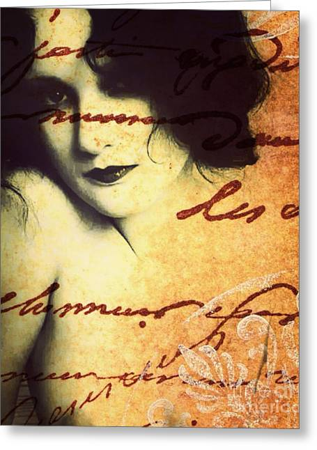 Winsome Women Greeting Card by Chris Andruskiewicz