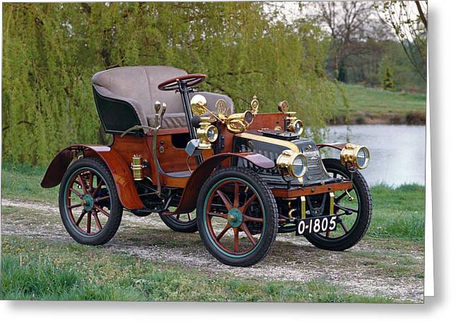 1903 Peugot Bebe Series C Open Greeting Card by Panoramic Images