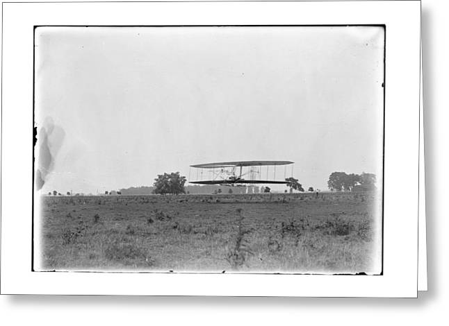 1904 Wright Brothers Flight 30 Greeting Card by MMG Archives