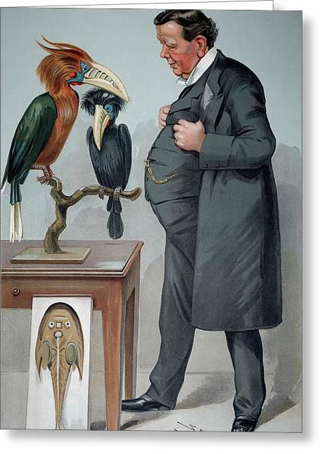 1905 Edwin Ray Lankester Zoologist Greeting Card by Paul D Stewart