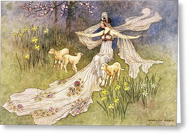 1910s Illustration Fairy Tale The Fairy Greeting Card