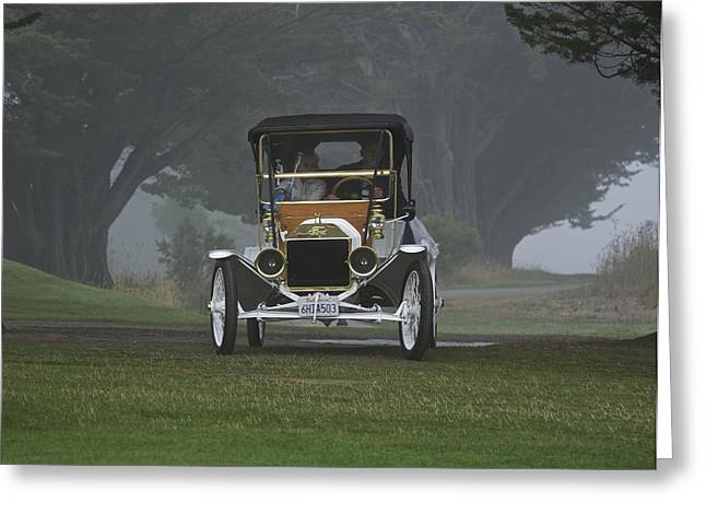 1911 Ford Model T II Greeting Card
