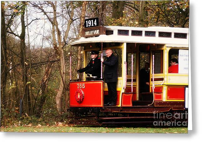 1914 Heaton Park Tram Greeting Card