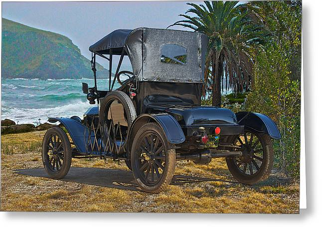 1915 Ford Model T Roadster IIi Greeting Card by Dave Koontz