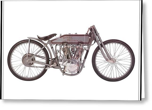 1915 Harley-davidson 11-k Greeting Card