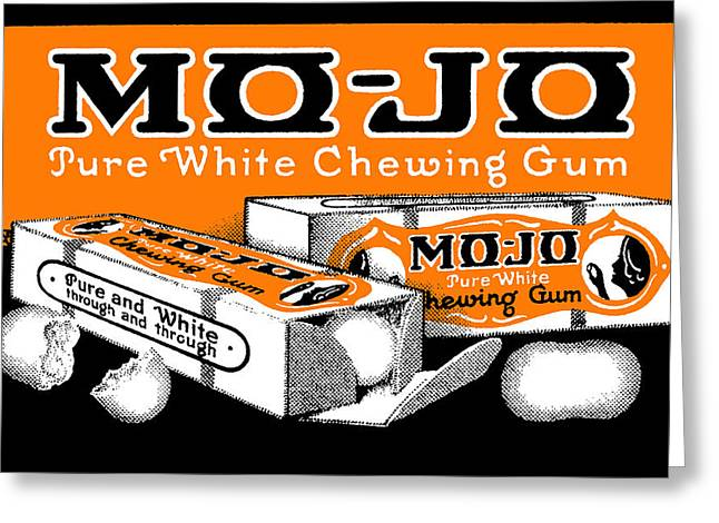 1915 Mo Jo Chewing Gum Greeting Card