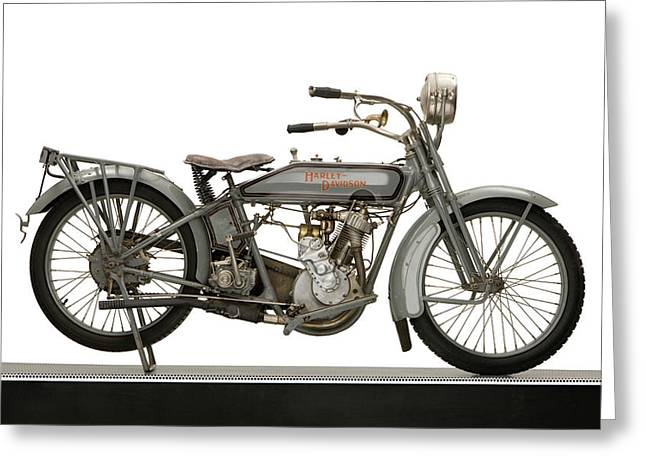 1916 Harley Davidson Model 16 5-35 Greeting Card by Panoramic Images
