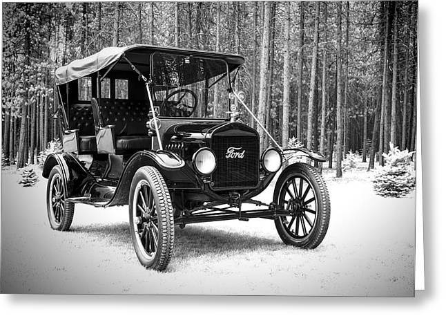 1917 Ford Touring Car Greeting Card by Daniel Hagerman