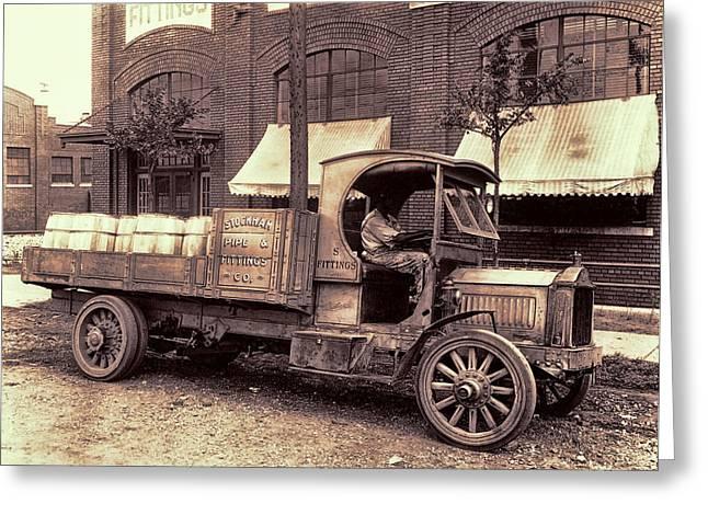 1919 Packard Work Truck Greeting Card