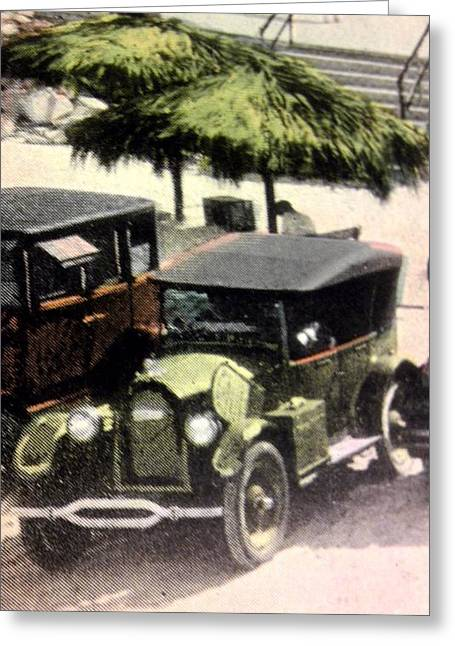 1920's Automobiles Greeting Card