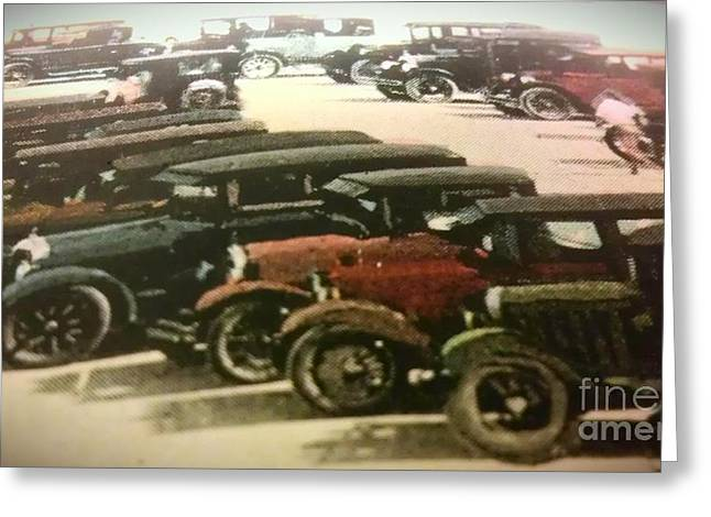 1920's Autos Greeting Card