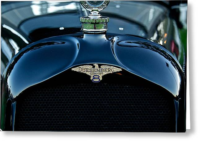 1921 Duesenberg A Bender Coupe Greeting Card