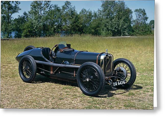 1922 Sunbeam Strasbourg 2.0 Litre Grand Greeting Card by Panoramic Images