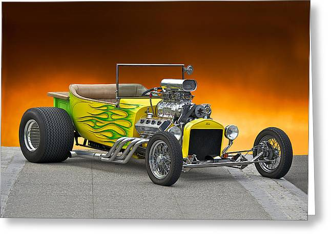 1923 Ford Bucket T Pick Up Greeting Card by Dave Koontz