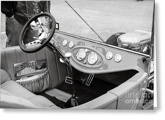 1923 Ford T Bucket Streetrod Antique Vintage Photograph Fine Art Prints Collectables 3087.01 Greeting Card by M K  Miller