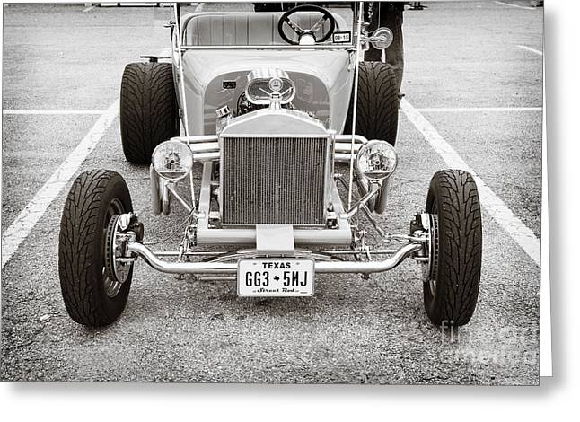 1923 Ford T Bucket Streetrod Antique Vintage Photograph Fine Art Prints Collectables 3084.01 Greeting Card by M K  Miller