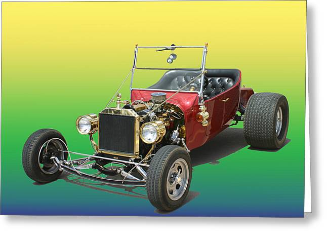 1923  Ford T Bucket  Greeting Card