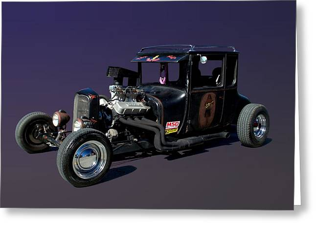 1927 Ford High Top Model T Rat Rod  Greeting Card