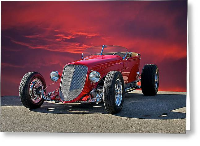 1927 Ford 'lakester' I Greeting Card by Dave Koontz