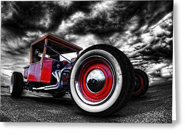 1927 Ford T Bucket Greeting Card by Scott Cohen