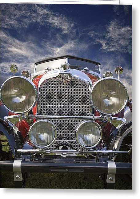 1928 Auburn Model 8-88 Speedster Greeting Card