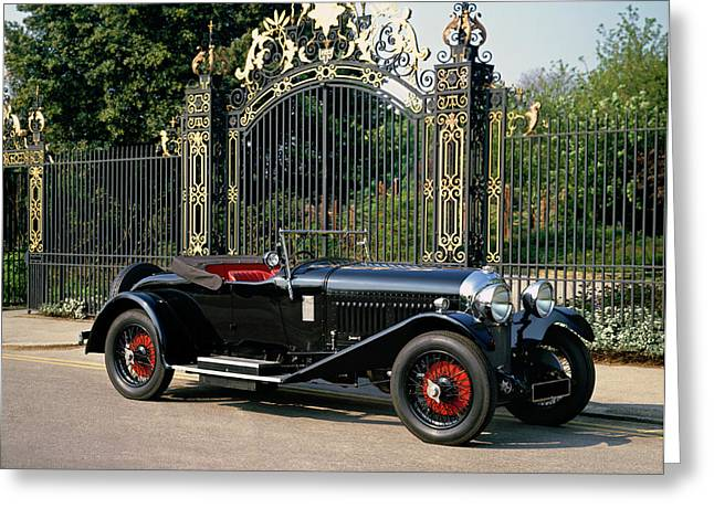 1929 Bentley 4.5 Litre Drophead Coupe Greeting Card