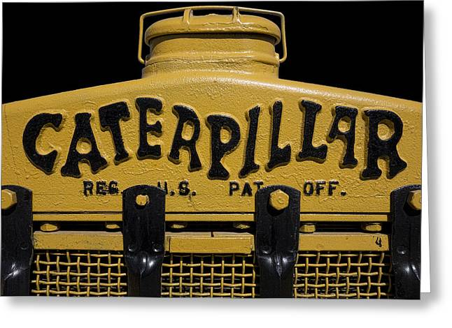 1929 Caterpillar Baby Dozer Grill Greeting Card