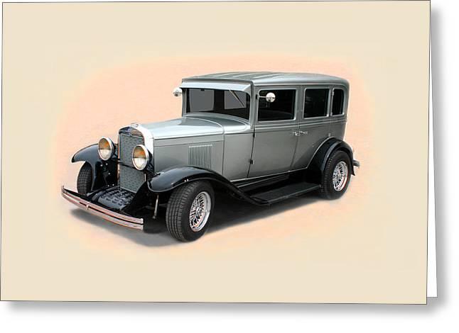 1929 Chevrolet Stovebolt Six Sedan Greeting Card by Jack Pumphrey