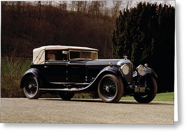 1930 Bentley 6.5 Litre Speed Six Greeting Card
